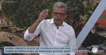 Prefeito eleito de Ituverava fala sobre governo para próximos 4 anos - Record TV