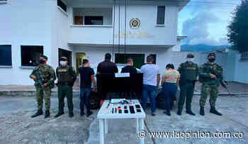 Los capturaron después de robar en Bucarasica - La Opinión Cúcuta