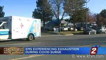REMSA Paramedics Exhausted During COVID Surge