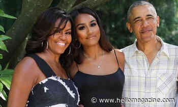 Sasha Obama's long nails are insane as she shows off incredible dance moves