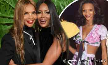 Naomi Campbell celebrates her stunning mother Valerie's 69th birthday with a series of snaps
