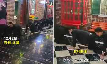 Chinese employees are 'forced to crawl on the floor' as punishment for failing to meet sales targets