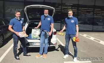 Fußballspieler vom Sportverein Molln bieten Einkaufs-Service an - Tips - Total Regional
