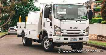 Isuzu NPS 4x4 Truck review