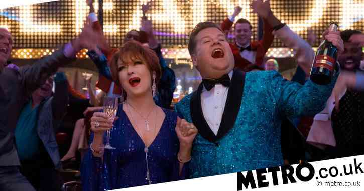 James Corden 'very proud' of scenes in Netflix's musical The Prom amid 'gay stereotypes' backlash