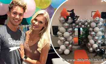 AJ Pritchard's girlfriend Abbie Quinnen organises welcome home party