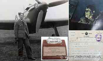 Incredible story of RAF hero pilot who could see in dark emerges as his archive goes up for auction