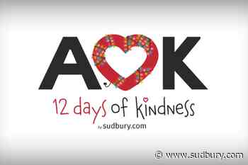 A week away: Sudbury.com's 12 Days of Kindness countdown is set to begin