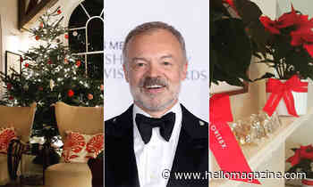 Graham Norton has the cosiest home for Christmas - see inside