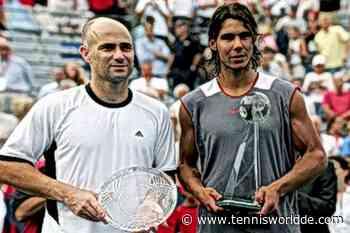 """Andre Agassi: """"Ich habe Rafael Nadal nie in seiner besten Form gespielt und..."""" - Tennis World DE"""