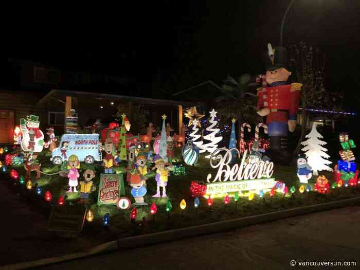 2020 Christmas lights map/list: Drive by these displays around Metro Vancouver