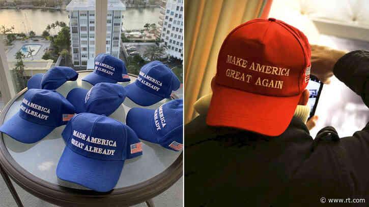 Goodbye MAGA, hello... Blue MAGA? Dem ripoff hats repulse even liberals