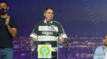 'Estamos saindo, sim, em V dessa crise', diz Bolsonaro em Guariba, SP - G1