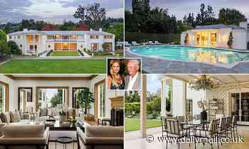 LA mansion of hotelier William Barron Hilton hits the market for $75million after death last year