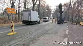 Verkehr: Kanalbrücke in Elsterwerda soll dieses Jahr fertig werden - Lausitzer Rundschau