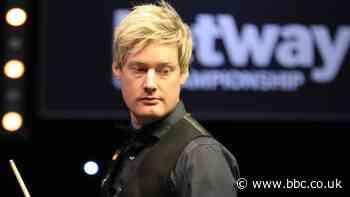 UK Snooker Championship 2020: Neil Robertson beats Mark Selby to reach semi-finals