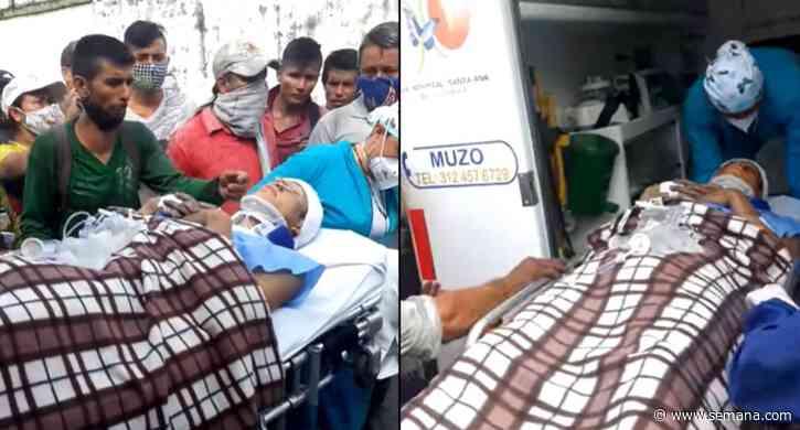 Protestas en Muzo dejan varias personas heridas - Semana