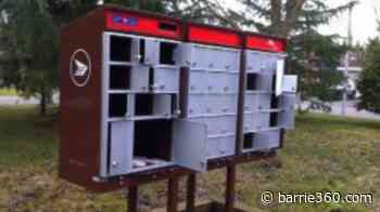 Community mailboxes in Bradford vandalized - Barrie 360