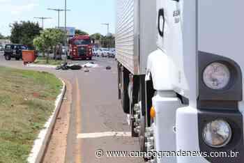 Militar morre em colisão entre moto e caminhão na Duque de Caxias - Campo Grande News