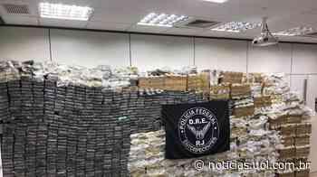 PF faz maior apreensão de cocaína do RJ: 2,5 toneladas; um PM é preso - UOL Notícias