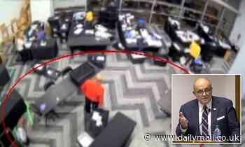 Rudy Giuliani gives video 'evidence' of ballot fraud in Georgia