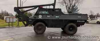Longue opération policière: l'homme en crise à Lévis se rend aux policiers