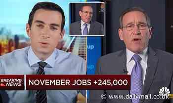 Furious CNBC editor Rick Santelli shouts at fellow host Andrew Ross Sorkin