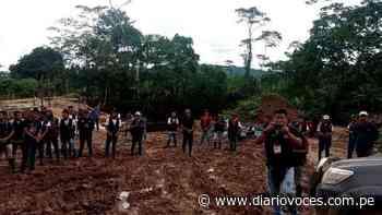 Toman construcción de la carretera Chazuta – Curiyacu exigiendo mejoras salariales para obreros - Diario Voces