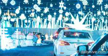 Holiday lights drive-thrus and Christmas markets to check out in Montreal   Curated - Daily Hive