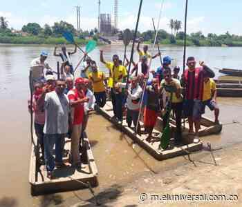 Bongueros y dueños de botes en Soplaviento piden ser indemnizados - El Universal - Colombia