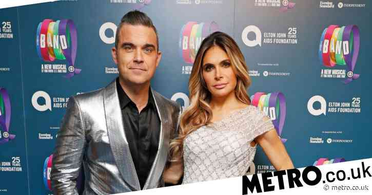 Robbie Williams recalls viral moment when he sang to Ayda Field during labour: 'It was a joke Mumsnet!'