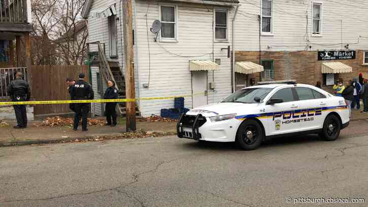 Police On Scene Of Homestead Shooting