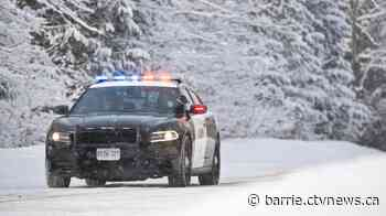 Orillia woman charged with impaired after crashing car into snowy ditch