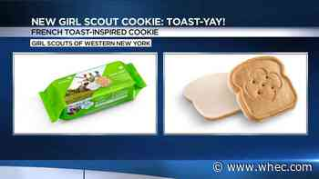 Girl Scout cookies go on sale Saturday, including new french toast cookie