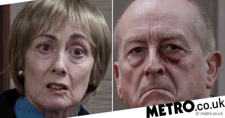 Coronation Street spoilers: Brave Elaine Jones gives evidence against Geoff Metcalfe — and exposes his abuse