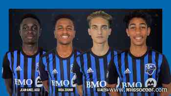 Montreal Impact sign four players to homegrown contracts