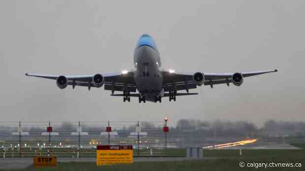More than a dozen international flights returning to Calgary since Nov. 26 impacted by COVID-19