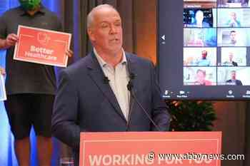 Next $1.5 billion in B.C. COVID-19 cash 'prudent,' Horgan says