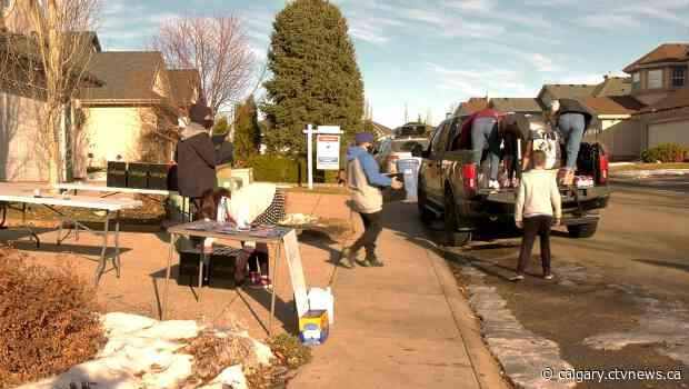 Kids raising money for veterans this holiday season