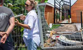 The Block's Shelley Craft oversees the final stages of her home build in Byron Bay