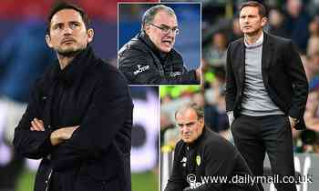Frank Lampard insists he 'LOVES' his rivalry with Leeds and plays down 'tiff' with Marcelo Bielsa