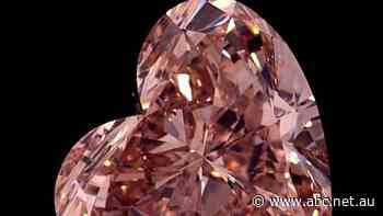 Australian miner reveals heart-shaped gem cut from record pink diamond