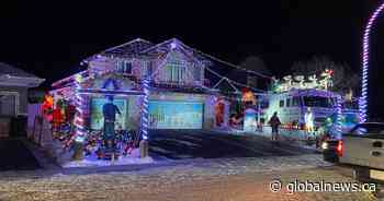 Stony Plain home with 34,000 lights inspires neighbourhood's holiday spirit