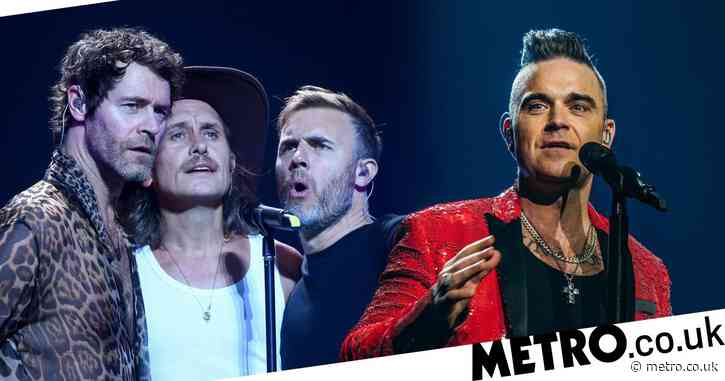 Robbie Williams forming his own band 25 years after quitting Take That