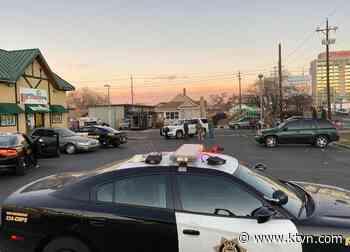 Police Activity Near Sixth Street And Morrill Avenue