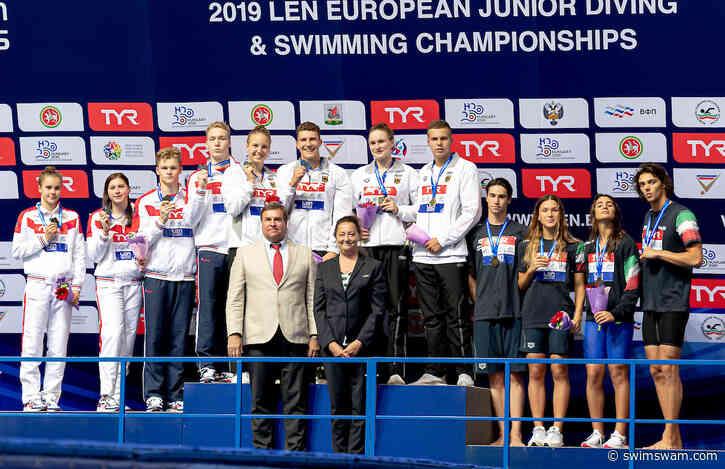 Daria Klepikova Bests Daria Trofimova With A 25.50 50 Free At Russian Juniors