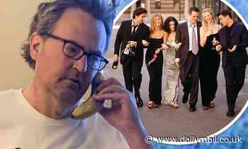 Matthew Perry models Friends-themed t-shirt featuring Chandler's catchphrase