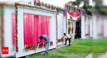 Wedding organisers keep coronavirus at bay - Times of India