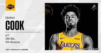 Lakers Re-sign Quinn Cook - Lakers.com