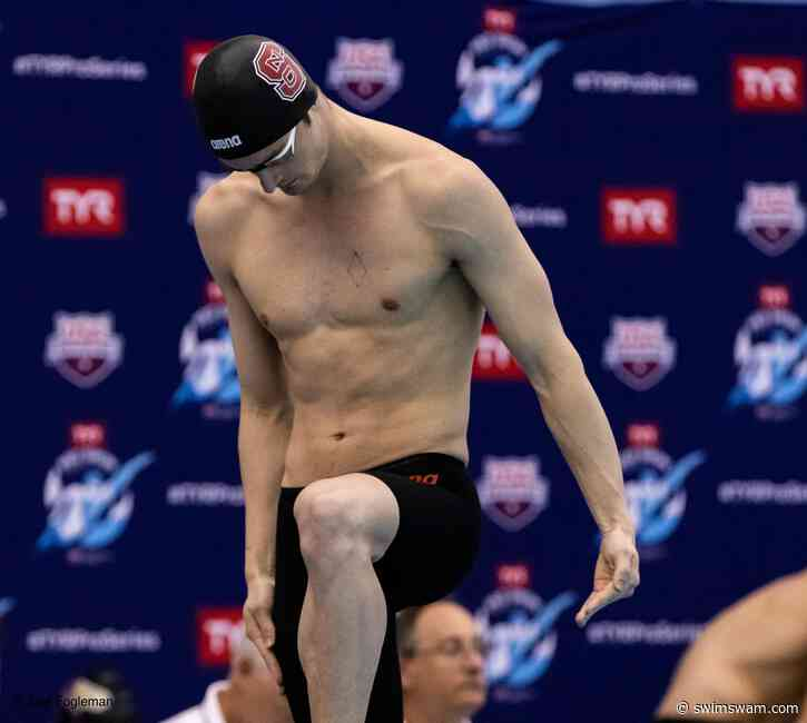 Coleman Stewart Cranks 43.62 100 Backstroke, Now 2nd-Fastest Performer All-Time